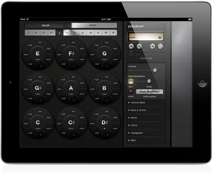 polychord: iPad App for Music Creation and Performance